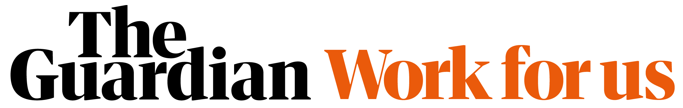 The Guardian Work For Us Logo